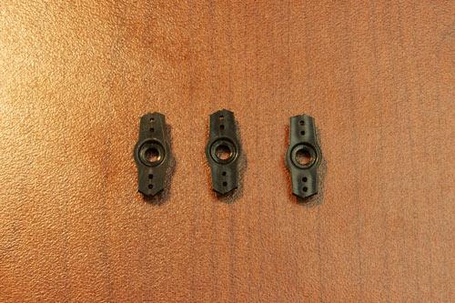 22. Cutting servo horns to fit