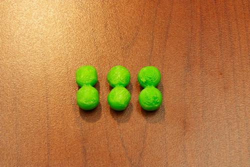 26. Sand down Ball-Ball pieces