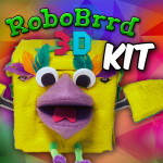 RoboBrrd 3D KIT Splash!